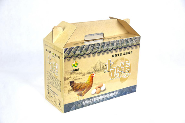 幸旺包装:漂亮的礼盒让土鸡蛋高端大气上档次