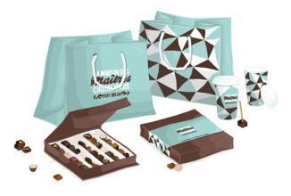 巧克力包装盒定制