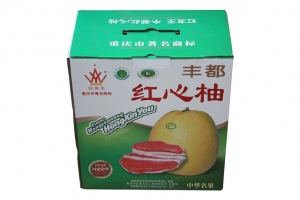 红心柚土特产包装定制