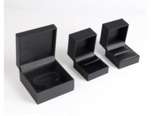 黑色首饰包装盒定制